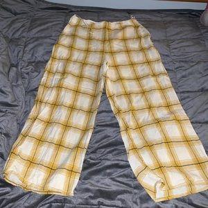 Lottie moss plaid pants